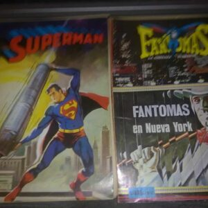 comic superman fantomas (envio gratis)